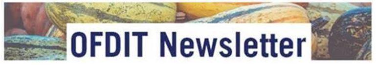 OFDIT Newsletter banner